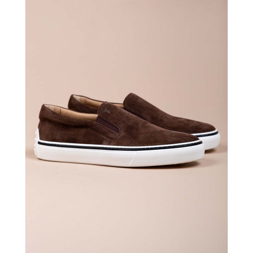 Achat Cassetta Casual - Split leather slip-ons with elastics - Jacques-loup
