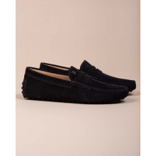 Gommini - Split leather moccasins with decorative tab