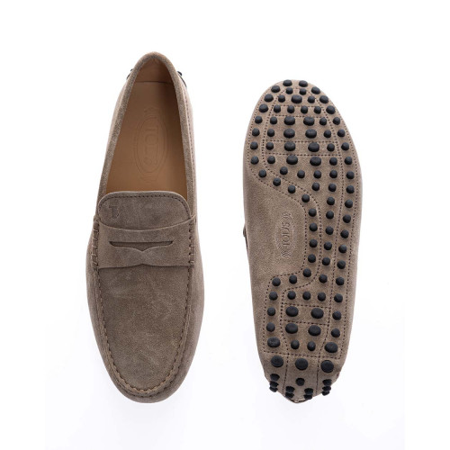 Achat Gommini - Split leather moccasins with decorative tab - Jacques-loup