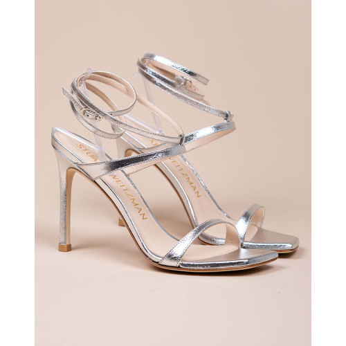 Achat Ellsie - High-heeled sandals metallic nappa 100 - Jacques-loup