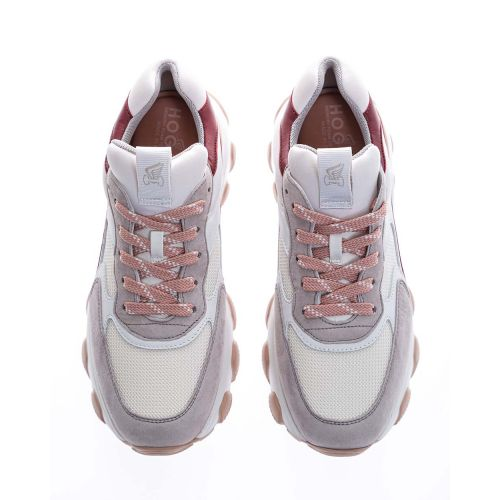 Achat Hyperactive - Leather and split leather sneakers with sculpted outer sole - Jacques-loup