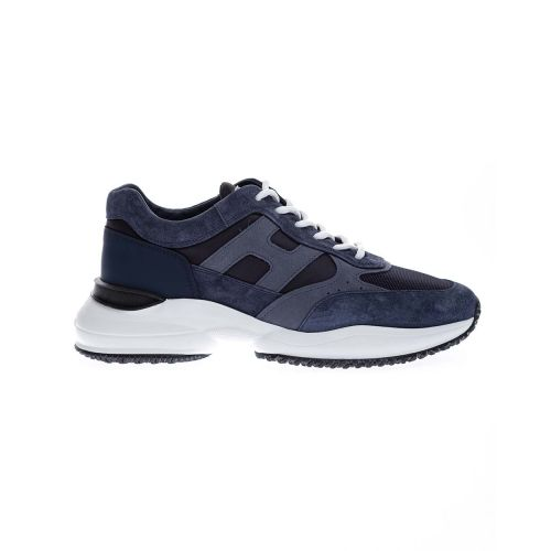 Achat Interaction - Sporty split leather and nubuck sneakers 50 - Jacques-loup