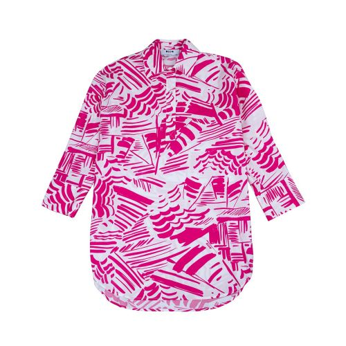 Achat Cotton shirt with beach umbrella print LS - Jacques-loup