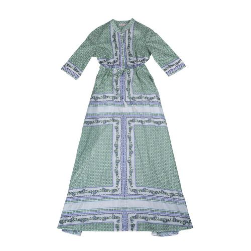 Achat Robe Chemisier Tory Burch vert-parme - Jacques-loup