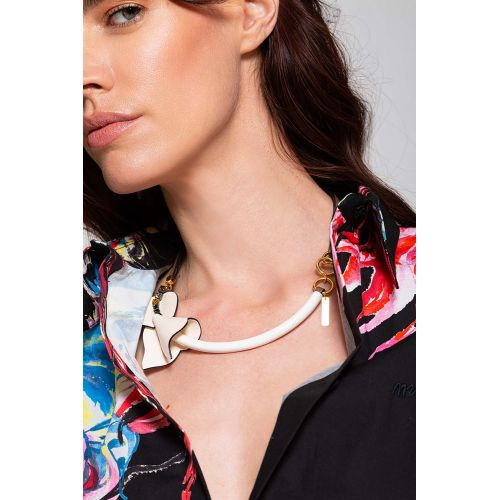Achat Necklace two-toned with ornament - Jacques-loup