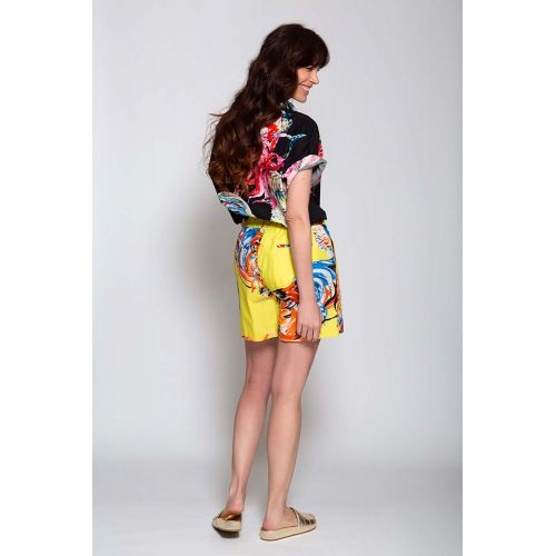 Achat Cotton bermuda shorts with rooster print - Jacques-loup