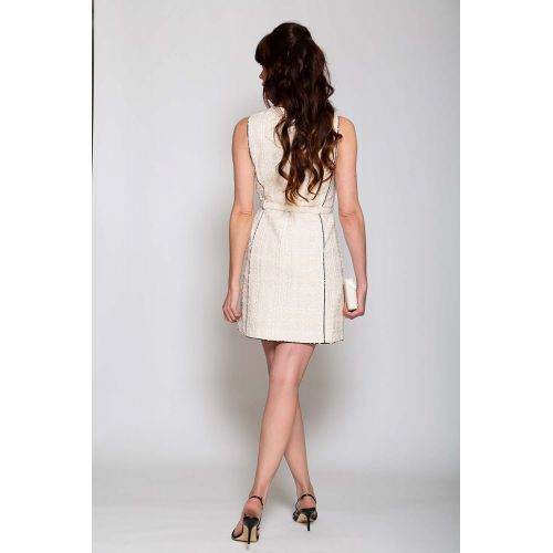 Achat Mini sleeveless dress with belt - Jacques-loup