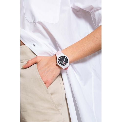 Achat Monaco - Soft touch silicone and stainless steel watch water resistant - Jacques-loup
