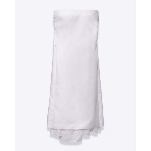 Achat Knotted strapless poplin... - Jacques-loup