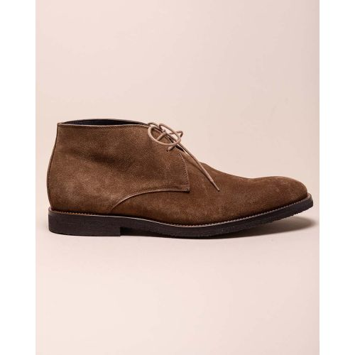 Achat High split leather derby shoes - Jacques-loup