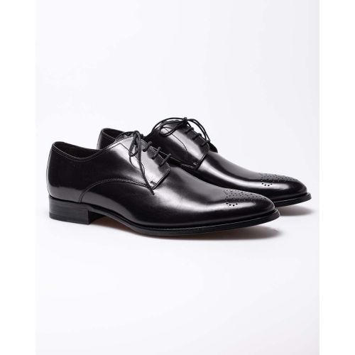 Achat Leather derby shoes with laces - Jacques-loup