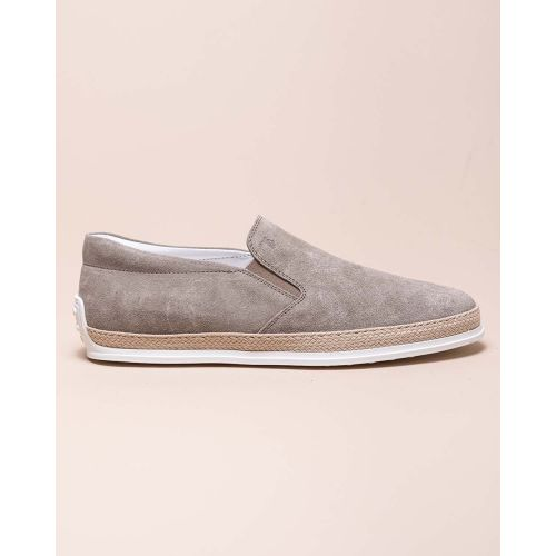Achat Pantofola - Split leather slip-ons with rope sole - Jacques-loup