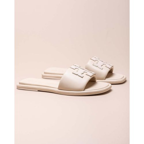 Achat Leather padded flat mules - Jacques-loup