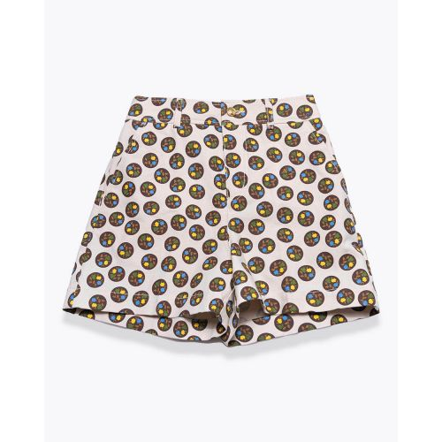 Achat Silk twill shorts - Jacques-loup