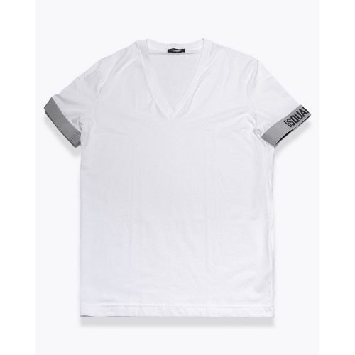 Achat Cotton T-shirt with double elastic bands - Jacques-loup