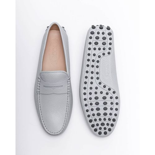 Achat Nuovo Gommino - Grained leather moccasins with decorative tab - Jacques-loup
