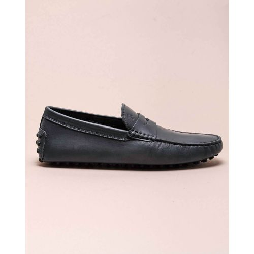 Achat Nuovo Gommino - Patina leather moccasins with decorative tab - Jacques-loup