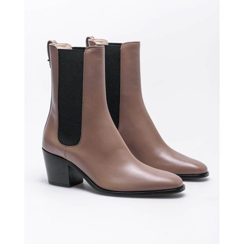Achat Beattle Western - Leather low boots rock style 55 - Jacques-loup