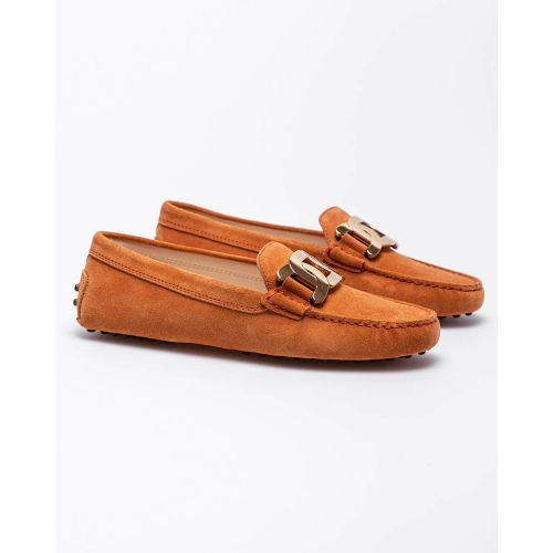 Achat Gommini - Split leather moccasins with metallic bit - Jacques-loup
