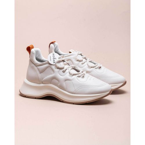 Achat Speedy Run - Nappa leather sneakers with laces in trekking style - Jacques-loup