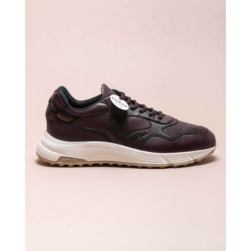 Achat Hyper Light - Nappa leather sneakers with curved cut outs cuts - Jacques-loup