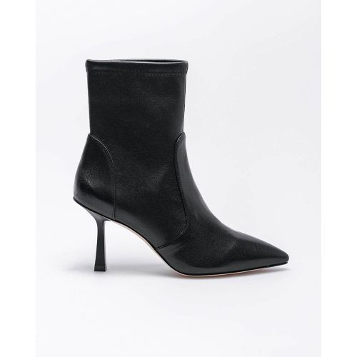 Achat Max 85 - Leather low boots with pointed tip - Jacques-loup