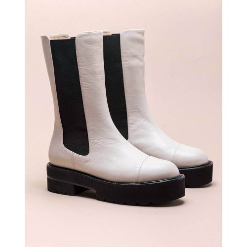Achat Presley - Leather low boots with elastics 45 - Jacques-loup