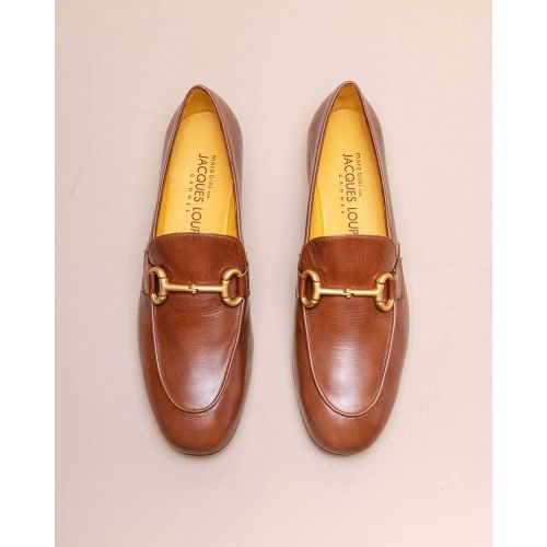 Achat Leather moccasins with metallic bit 15 - Jacques-loup