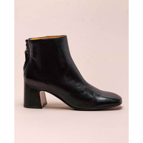 Achat Leather low boots with zipper 60 - Jacques-loup