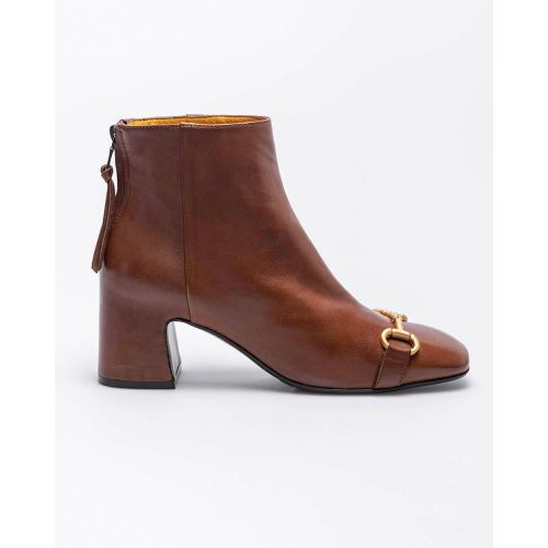 Achat Leather low boots with metallic bit 60 - Jacques-loup