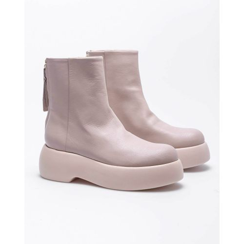 Achat Nappa leather boots with rounded tip 60 - Jacques-loup