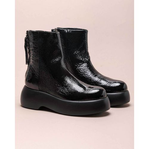 Achat Bottines en cuir nappa bout rond 60 - Jacques-loup