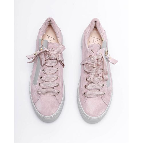 Achat Split leather sneakers with zipper 40 - Jacques-loup