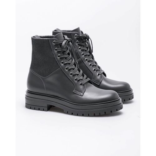 Achat Leather low boots with rounded tip 30 - Jacques-loup