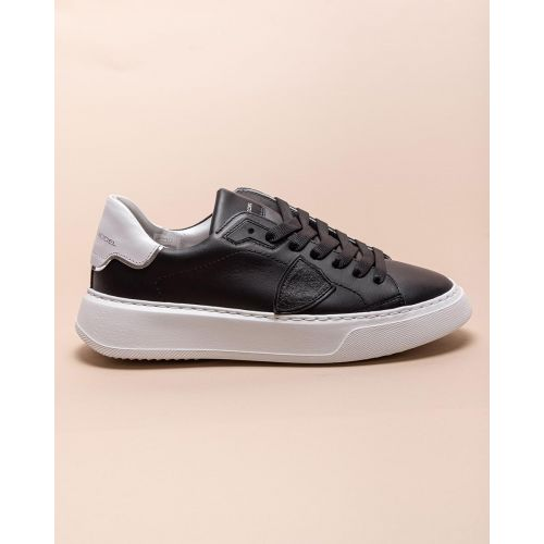 Achat Temple - Leather sneakers with round toe - Jacques-loup