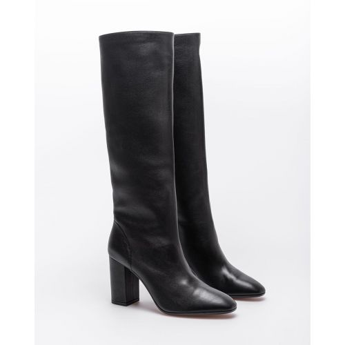 Achat Boogie - Nappa leather high boots with round toe 85 - Jacques-loup