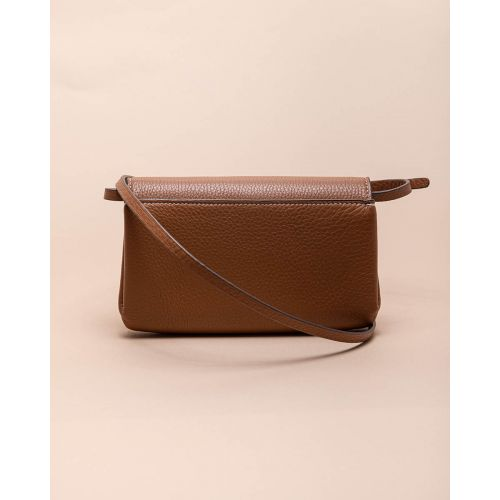 Achat Miller - Leather bag with logo and shoulder strap - Jacques-loup
