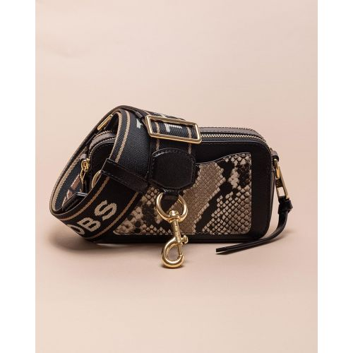 Achat Snapshot - Rectangular leather bag with python print - Jacques-loup