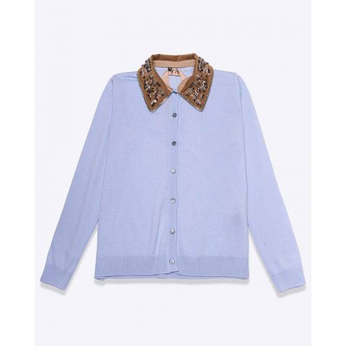 Achat Wool cardigan with rhinestones LS - Jacques-loup