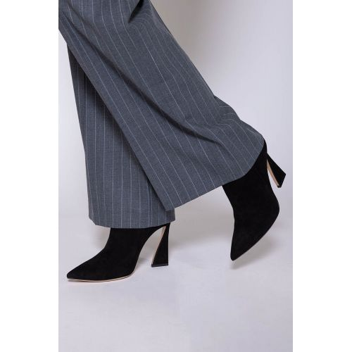 Achat Suede boots with sculpted heel 100 - Jacques-loup