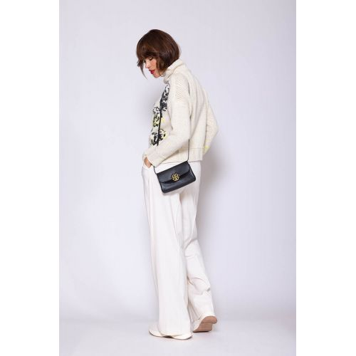 Achat Pull en cachemire oversize with embroideries ML - Jacques-loup