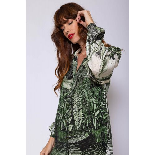 Achat Crepe and silk outfit with jungle print - Jacques-loup