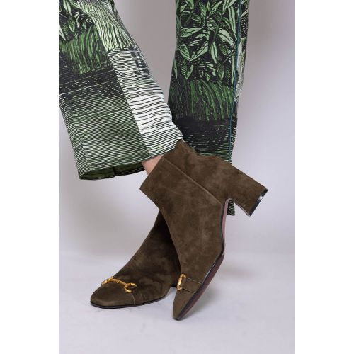 Achat Suede low boots with metallic bit 60 - Jacques-loup