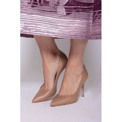 Achat Leather high heels 85 - Jacques-loup