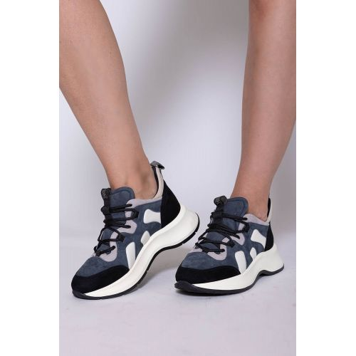 Achat Speedy Run - Suede and leather sneakers with laces in trekking style 50 - Jacques-loup