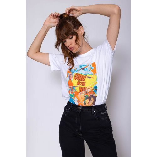 Achat Cotton T-shirt with... - Jacques-loup