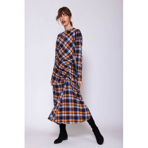 Achat Cotton flannel dress with adjustable strings - Jacques-loup