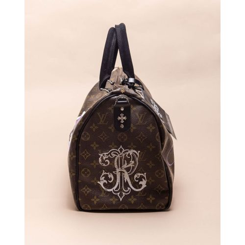 Achat Gang of Love - Customized bag with silver and python details 45 cm - Jacques-loup