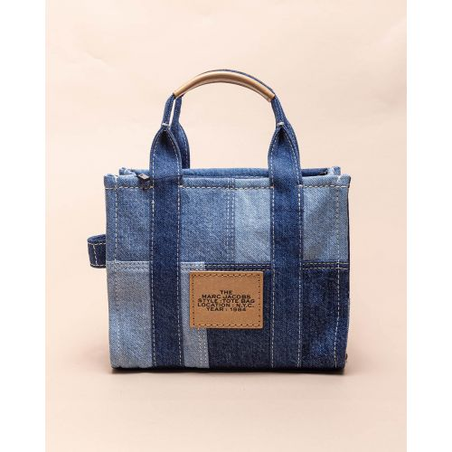 Achat The Mini Tote Bag - Jeans bag with shoulder strap - Jacques-loup