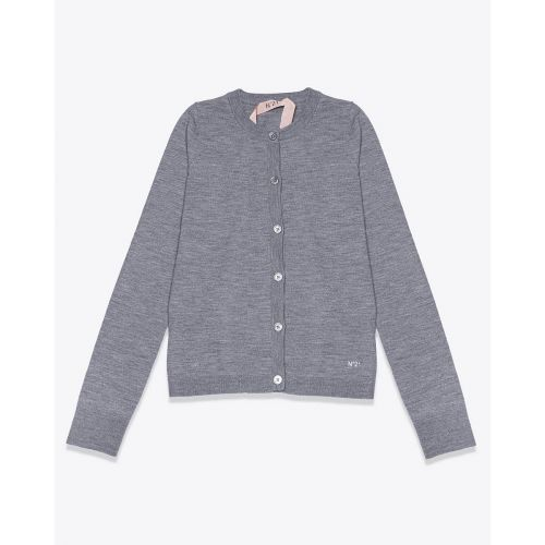 Achat Wool cardigan with embroidered logo - Jacques-loup